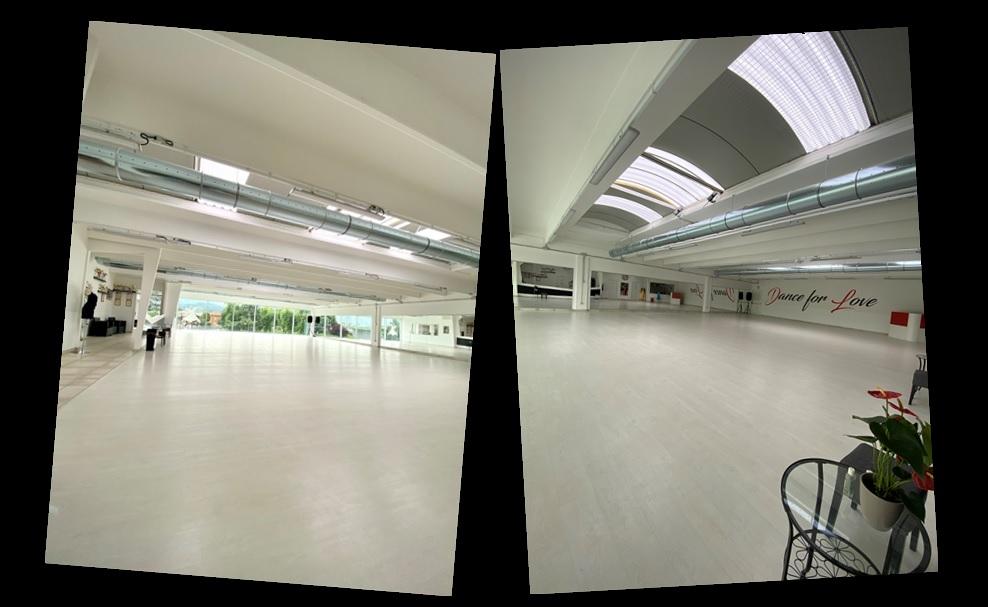 La sala della scuola di ballo